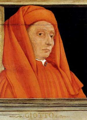 Cinq maîtres de la Renaissance florentine (détail, Giotto)