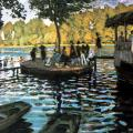 Claude Monet. La Grenouillère (1869)