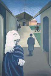 Conroy Maddox. passage de l'opéra (1970-71)