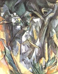 Braque. Paysage, 1908