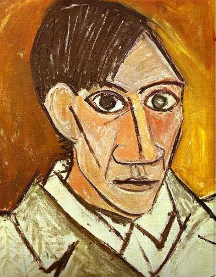 Picasso. Autoportrait, 1907