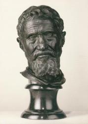 Daniele da Volterra. Buste de Michel-Ange (1564-1566)