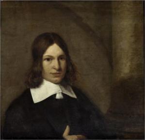 De Hooch. Autoportrait (1649)