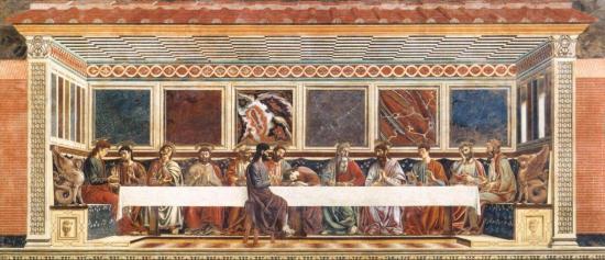 Del Castagno. La Cène (1447)