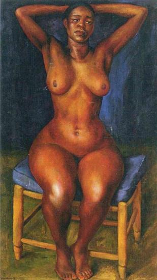 Diego Rivera. Danseuse au repos (1939)