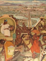 Diego Rivera. L'histoire du Mexique, détail 1 (1929-51)
