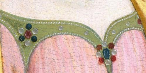 Domenico Veneziano. Vierge à l'Enfant (1445-1450), détail