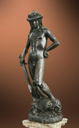 Donatello. David (1430-32)