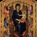 Duccio. Madone Rucellai (1285)