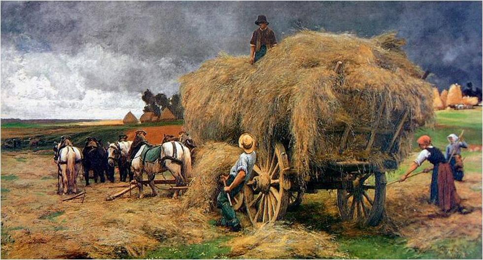 Biographie et uvre de julien dupr 1851 1910 for Artistes peintres connus
