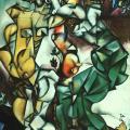 Chagall. Adam et Ève, 1912