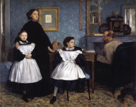 Edgar Degas. La famille Bellelli (1858-67)