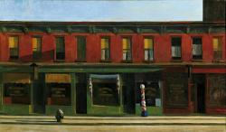 Edward Hopper Early Sunday Morning (1930)