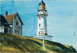 Edward Hopper. Light at Two Lights (1927)