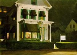Edward Hopper. Rooms for tourists (1945)