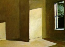 Edward Hopper. Sun in an empty room (1963)