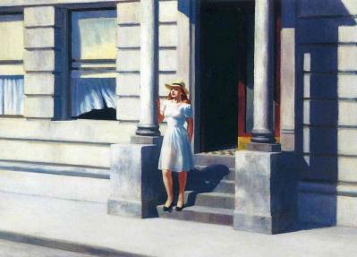 Edward Hopper. Summertime (1943)