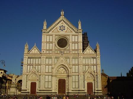 Vue de la basilique Santa Croce