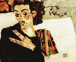 Egon Schiele. Autoportrait (1911)