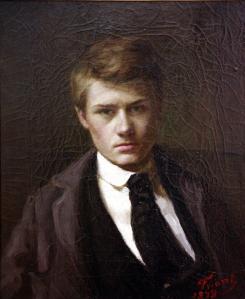 Émile Friant. Autoportrait à quinze ans (1878)