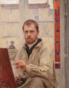 Émile Friant. Autoportrait (1887)