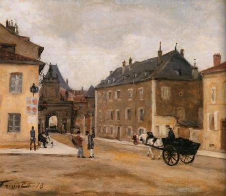 Emile Friant. La porte Saint Georges (1878)