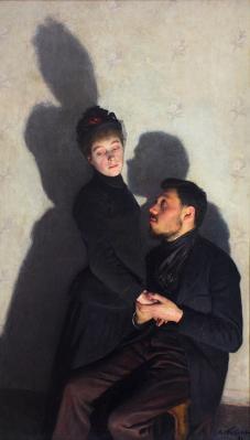 Emile Friant. Ombres portées (1891)