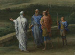 Anius, Anchise, Enée et Ascagne
