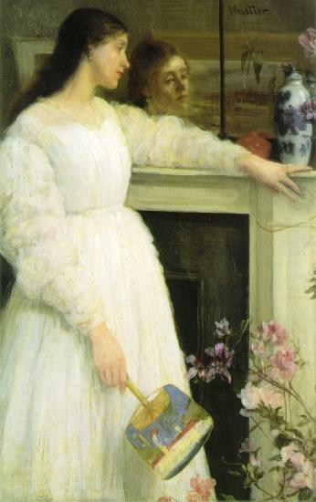 Whistler. Symphony in white 2 (1864)
