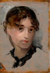 Eva Gonzalès. Autoportrait (v. 1880)