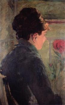 Eva Gonzalès. Étude à une fenêtre (1875-76)