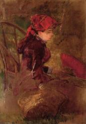 Eva Gonzalès. Le Déjeuner sur l'herbe (1880-82)
