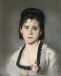 Eva Gonzalès. Portrait de Jeanne (1869-70)