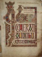 Évangéliaire de Lindisfarne folio 27r (690-721)