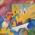 Kandinsky. Improvisation III (1909)