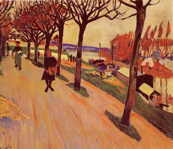 Derain. La Seine au Pecq, 1904