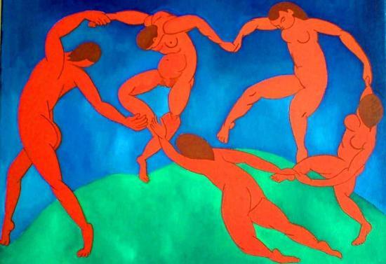 Matisse. La Danse, 1910