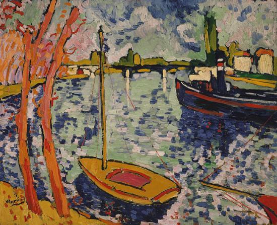 Vlaminck. La Seine à Chatou, 1906