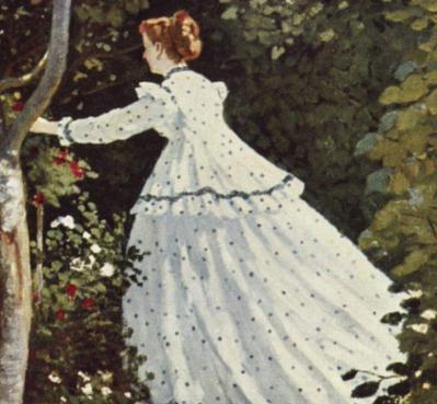 Femmes au jardin détail