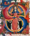 Fra Angelico. Vierge de la Miséricorde avec frères agenouillés (1424)