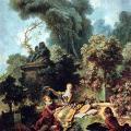 Fragonard. L'Amant couronné, 1771