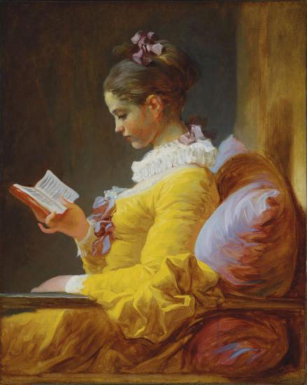 Fragonard. La Liseuse, 1770-72