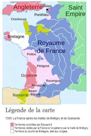 La France en 1365