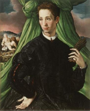 Francesco Salviati. Portrait d'un gentilhomme florentin (1546-48