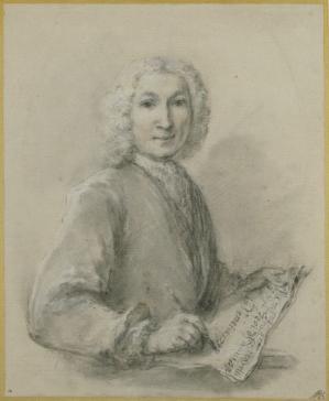 Francesco Zuccarelli. Autoportrait (1736-38)