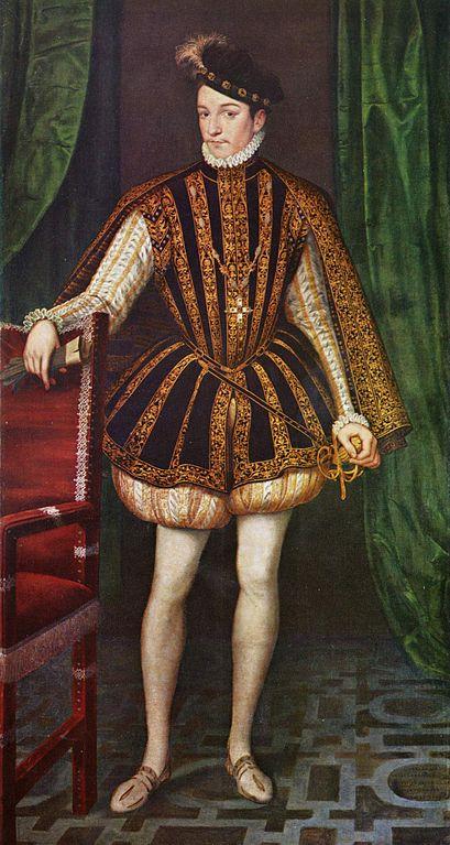 INTRIGUE  ♕ L'anniversaire de Monsieur le frère du Roi  Francois-clouet-charles-ix-1566