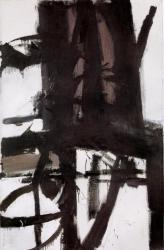 Franz Kline. Le pont (1955)