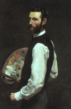 Frédéric Bazille. Autoportrait (1865-66)