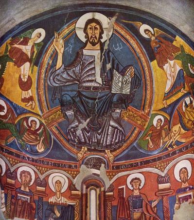Fresque de Sant Climent de Taüll (v. 1123)
