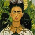 Frida Kahlo. Autoportrait au collier d'épines (1940)